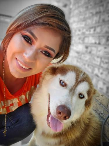 Lost Female Dog last seen At morton elementary school , Arlington, TX 76014